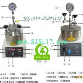 电加热不锈钢反应釜,25ml微型加氢反应釜