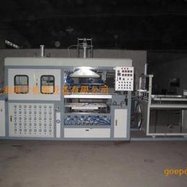 上海展仕中型全自动吸塑机,ZS1050中型全自动吸塑机