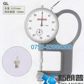 日本孔雀(PEACOCK)GL型针盘式镜片厚度计