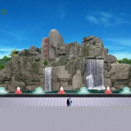 郑州假山设计施工