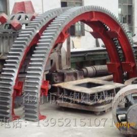 2.4米回转式滚筒烘干机传动大齿轮