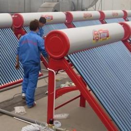 上海镁双莲太阳能热水器工程专家免费上门设计质保十五年