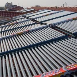 大型太阳能热水器洗浴工程 上海太阳能热水工程