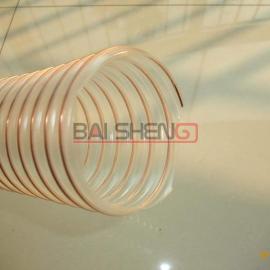 TPU钢丝螺旋管、塑料耐磨管、TPU吸料管