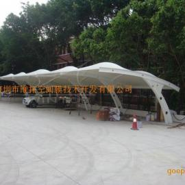郑州富士康厂区膜结构停车棚工程