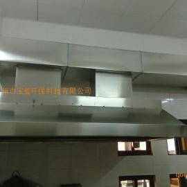 广州白铁通风工程烟罩烟管安装