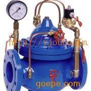 600X水力电磁控制阀 铸钢电磁控制阀 水力控制阀