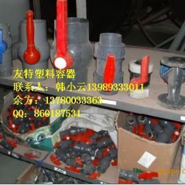 厂家直销水箱接头,UPVC水箱连接器批发,PVC球阀规格