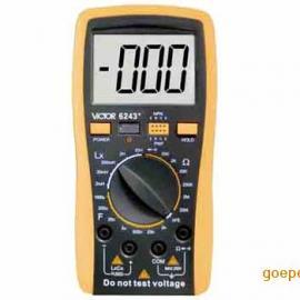 胜利数字电感电阻电容表VICTOR6243+