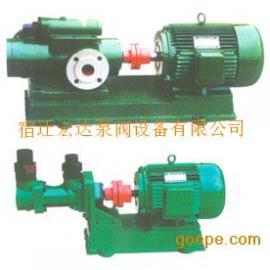 高炉煤气罐液压平衡三螺杆泵