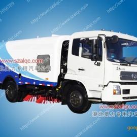 东风天锦高压清洗扫路车 20立方大型路面洗扫车