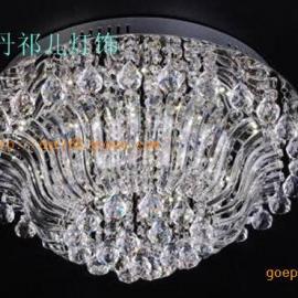 中式LED水晶灯