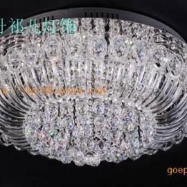 工程别墅LED水晶灯