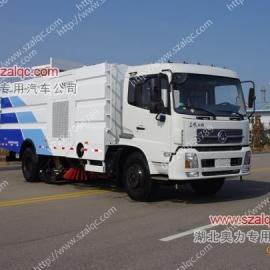 大型洗扫车厂家 大型洗扫车图片 东风天锦大型道路清扫车