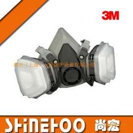3M喷漆专用防护面罩