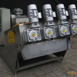 零售 大团环保DLW100-4 动片螺旋式污泥脱水机