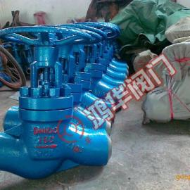 高压平衡焊接节流阀J6B6Y