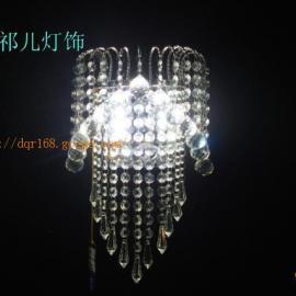 酒店专用LED水晶壁灯
