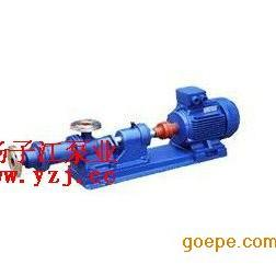 I-1B系列单螺杆式浓浆泵,单螺杆泵,不锈钢螺杆泵,浓浆泵