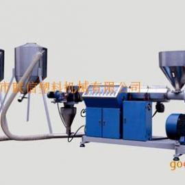 PVC、TPR,TPE、 EVA强制风冷式模头造粒机