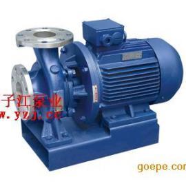 ISWH化工管道泵,不锈钢管道泵,卧式化工泵,单级管道泵,单吸管道泵