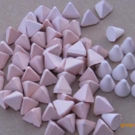 粉红色塑胶研磨石找启隆