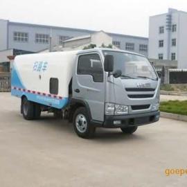 南京跃进4吨扫路车 小型扫地车配置 道路清扫车报价