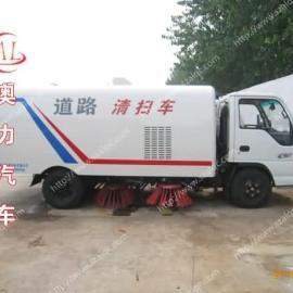 小型庆铃五十铃扫地车|中小型扫路车价格|柴油清扫车配置