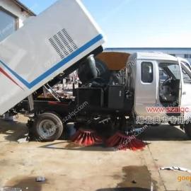 东风小型汽油扫路车|小型扫路车厂家|小型汽油道路清扫车图片