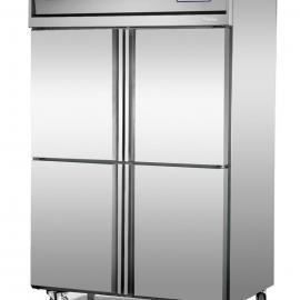 供应广东著名品牌雅绅宝冰柜/标准厨房保鲜柜/立式冷藏冷冻柜