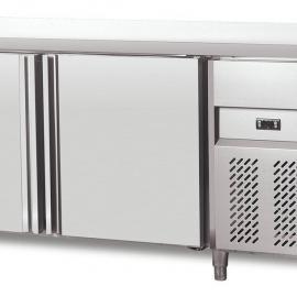 上海厨具冷柜供货厂家/标准保鲜工作台/直冷冷柜冰箱