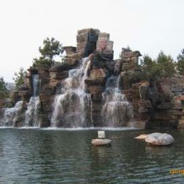 北京假山石销售安装青石板蘑菇石大理石雕刻