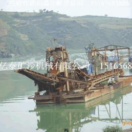 青州亿泰提供淘金船一体化设备