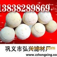 高铝耐火球 环保耐火球材料  耐火球厂家