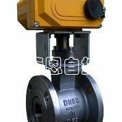 电动V型球阀、电动法兰式V型球阀、电动对夹式V型球阀