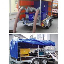 抗旱移动排水泵车