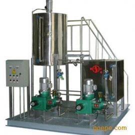 供应一体化、全自动不锈钢加氯机、加药设备