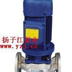 管道泵:IHGB型立式不�P�防爆管道�x心泵