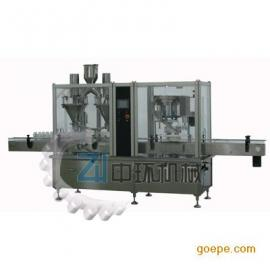 供应自动粉剂充填锁盖一体机ZHF30-2