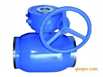 q361f蜗轮全焊接球阀图片