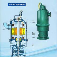 五星牌液下式防爆排污泵BQS1140伏构造图