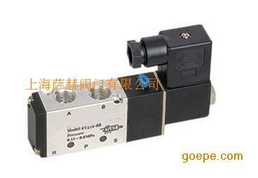 二位五通电磁阀配双作用式执行器,二位三通电磁阀配单作用式执行器.图片