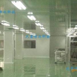 电子车间净化工程 千级电子厂房装修