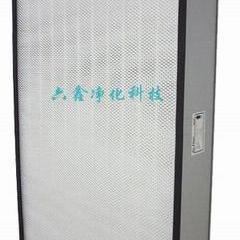 六鑫牌高效无隔板过滤器|活性炭过滤器|耐高温过滤器|新风柜