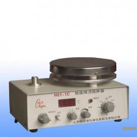 H01-1C数显恒温磁力搅拌器/恒温磁力搅拌机