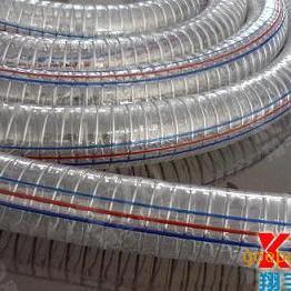 钢丝螺旋增强软管,pvc透明软管,泥沙抽送管