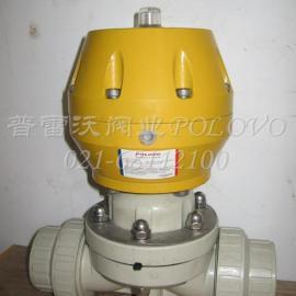 PVC塑料气动隔膜阀