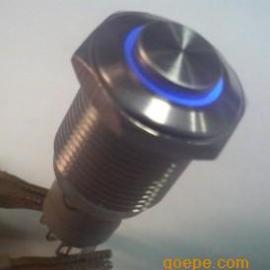 带灯无灯带锁无锁不锈钢金属按钮开关