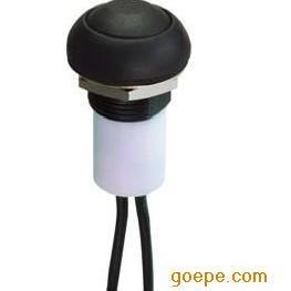 带灯带线全塑胶防水按钮开关