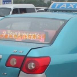 天津出租车全彩车载屏P4LED显示屏深圳厂家